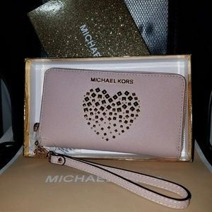 Valentines Gift IPhone Wallet Wristlet Mk iphone